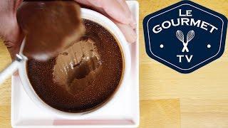 Baked Chocolate Custard Pudding Cups Recipe - Legourmettv