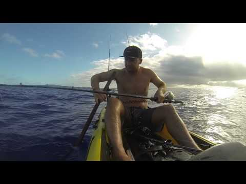 Kayak fishing oahu hawaii youtube for Kayak fishing hawaii