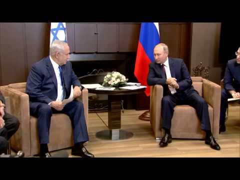 PM Netanyahu Meets Russian President Putin