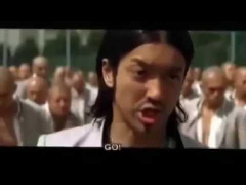 crows zero (back suzuran)Takiya Genji Vs Kaburagi Kazeo King Of Suzuran  Fight Scene ShareVideo Net