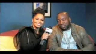 Janet Jackson & Malik Yoba BET Interview