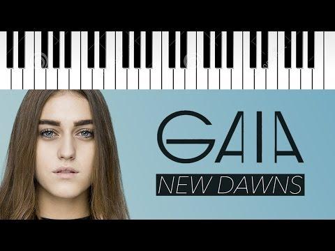Gaia Gozzi | New Dawns | X Factor 10 (INEDITO) | Piano Cover