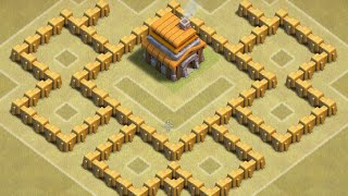 Clash of Clans TH 5 Trophy Base/Cw Base [Points:7,6-10]