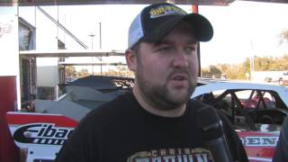 Gettin' the dirt on Zack VanderBeek at Shady Oaks Speedway