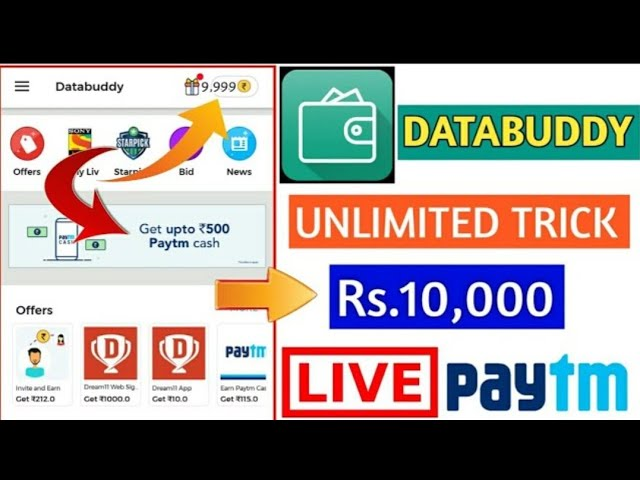 Databuddy Latest Unlimited Trick || No Root And Refer Trick || Latest Trick 2018????????
