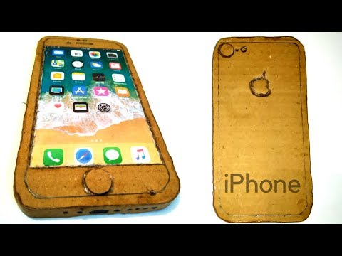 How to Make A iPhone 8 with Cardboard | DIY Apple iPhone