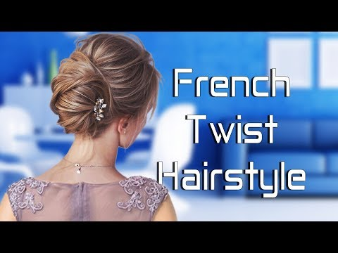 French Twist | French Bun | French Roll Hairstyle thumbnail