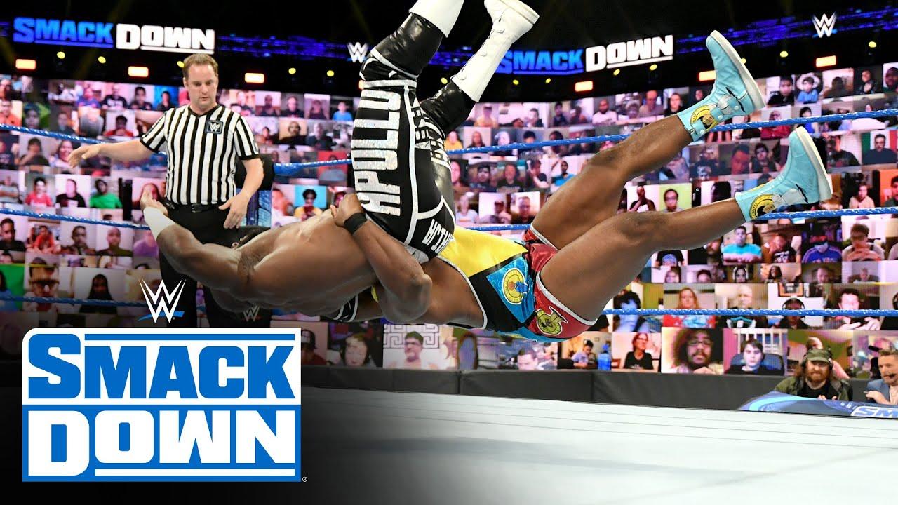 Download Big E & Kevin Owens vs. Apollo Crews & Commander Azeez: SmackDown, June 18, 2021