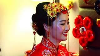 КНР.Суйфуньхэ. Китайская свадьба. Встреча жениха с невестой-24.12.16г.(авт.Игорь Жабский)