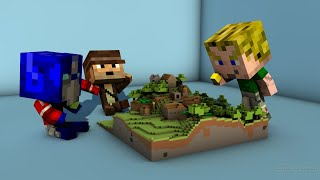 Minecraft mit Peter, Sep & Chris - Stream #1