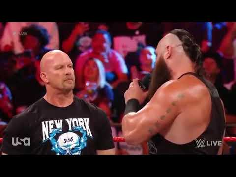 Download WWE Raw - Braun Strowman & Rollins Contract Signing - 09/09/ 2019