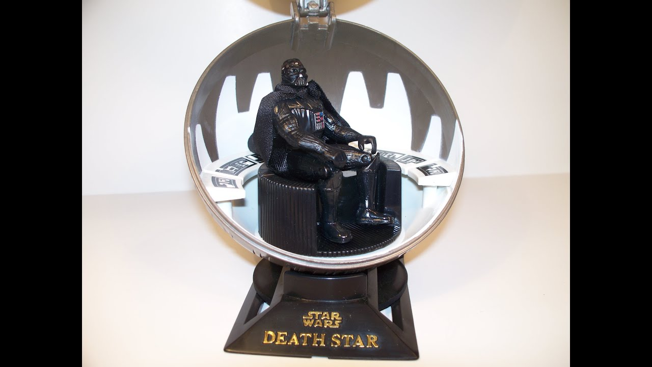 STAR WARS DEATH STAR DARTH VADER MEDITATION CHAMBER ACTION