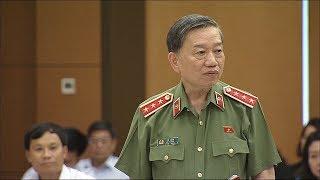 Bộ trưởng Tô Lâm cáo buộc người biểu tình có nhận tiền
