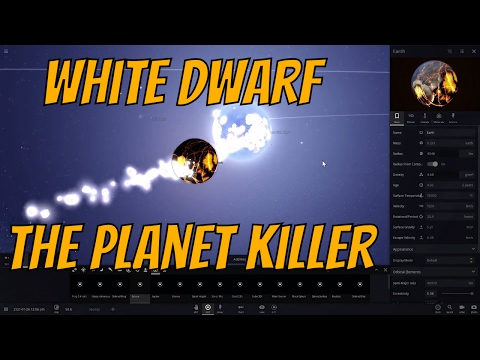 Alien Planets Destroyed & 'Eaten' by White Dwarfs - The Planet Killers in Universe Sandbox²