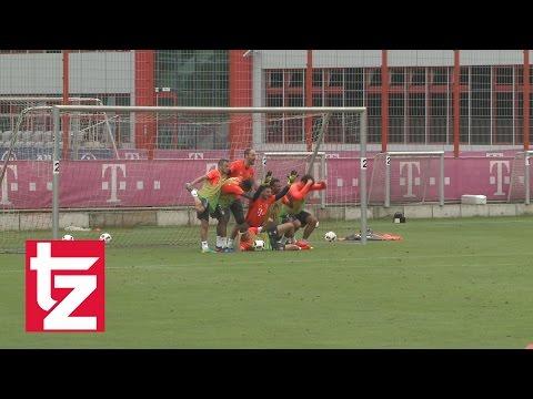 FC Bayern: Komplettes Trainingsspiel unter Carlo Ancelotti - Alaba mit Doppelpack - Hummels dabei