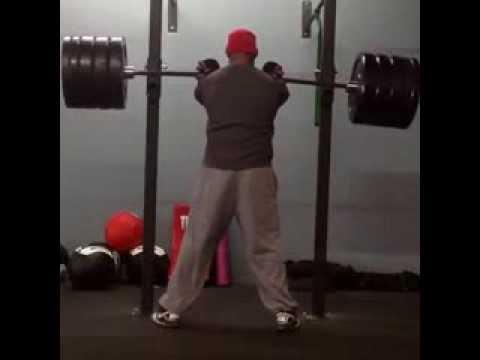 FTF Training Center - Carl Ihenacho 415 LBS Front Squats