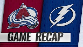 Steven Stamkos recorded four points and Louis Domingue made 29 save...