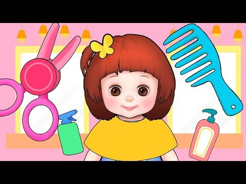 Baby Doli hair shop  play and baby doll...