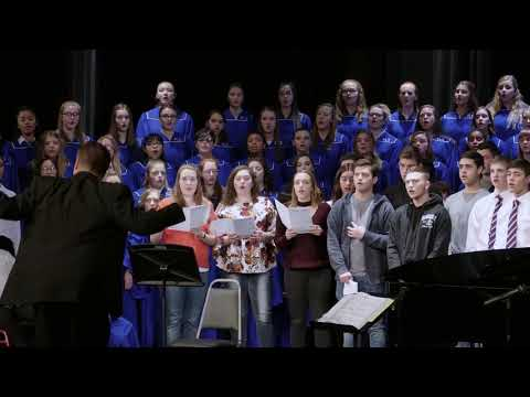 O Holy Night - Beautiful Choral Version from Papillion La Vista South High School