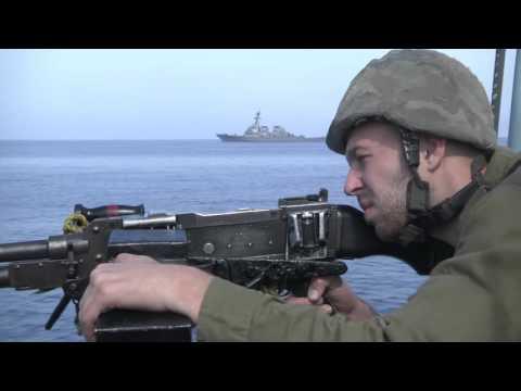 זרוע הים בשיתוף פעולה עם הצי האמריקאי