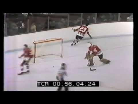 1972 02 10 Guy Lafleur vs Chicago Black Hawks Goal 20 of the Season