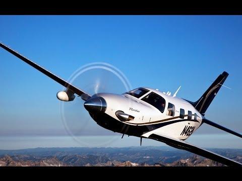 Atterraggio a Torino Caselle con un Piper Meridian - Landing in Turin (Italy) with a Piper Meridian