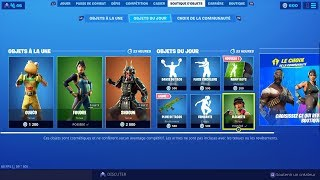 NEW SKIN NEW FORTNITE BOUTIQUE of September 12th (TODAY'S BOUTIQUE)!
