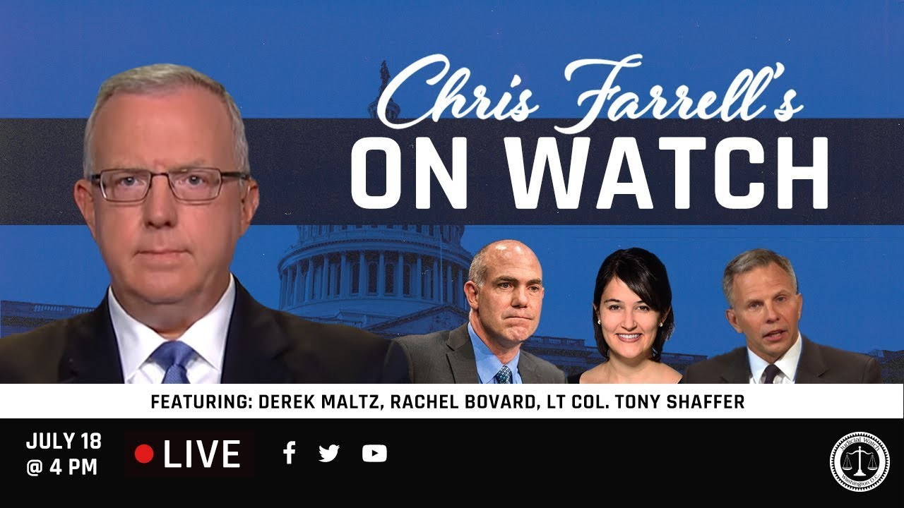 "Judicial Watch Chris Farrell's ""On Watch"": America's National Security & The"
