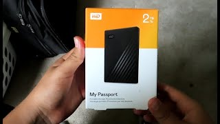 WD My Passport 2TB Unboxing and Installation Guide Full Review