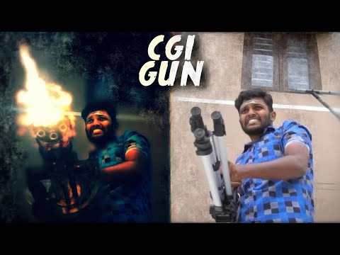 CGI Gun VFX + free Gun assets   Breakdown   Crispy Vidz
