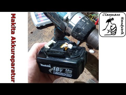 Beliebt Makita 18V Akku DEFEKT? Reparieren eines BL1830 - Battery Repair LV21