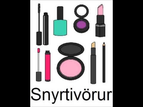 Icelandic Lesson #36: Make-Up - Singular and Plural, Pronunciation