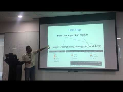How import works in Python by Sasidhar