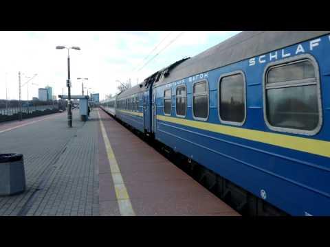 EP07-390 TLK 21010 Kiev Express podsył przez linię obwodową RP1 24.03.2017 4K
