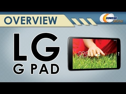 "LG G Pad 8.3 Tablet - Quad-Core 2GB RAM 16GB Flash 8.3"" Full HD Display Overview - Newegg Lifestyle"