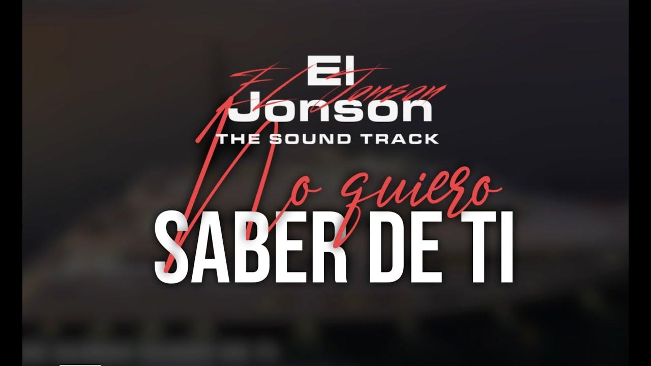 J Alvarez - No Quiero Saber De Ti (Audio Cover) El Jonson