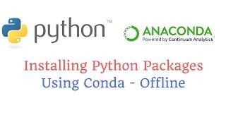 تثبيت بيثون الحزم باستخدام conda - حاليا