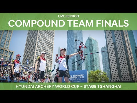 Partial session: Compound Team Finals | Shanghai 2017 Hyundai Archery World Cup S1 L2