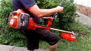 The new Husqvarna 545 RXT Brushcutter AutoTune