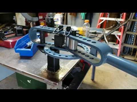 Receiver table mount for Harbor Freight compact Bender