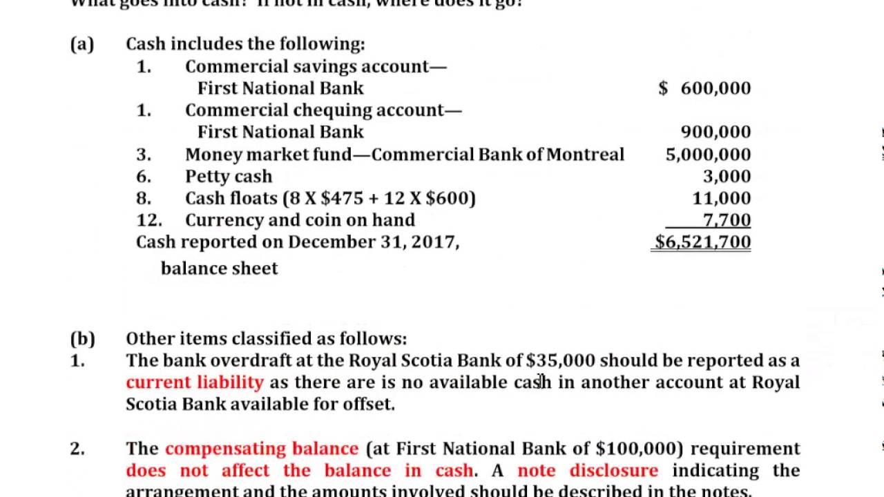 E7-1 Calculate Cash Balance - YouTube