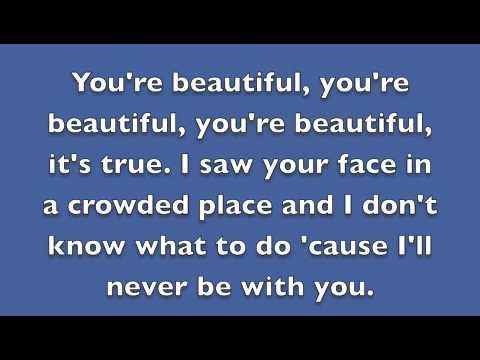 You\'re Beautiful Chords And Lyrics