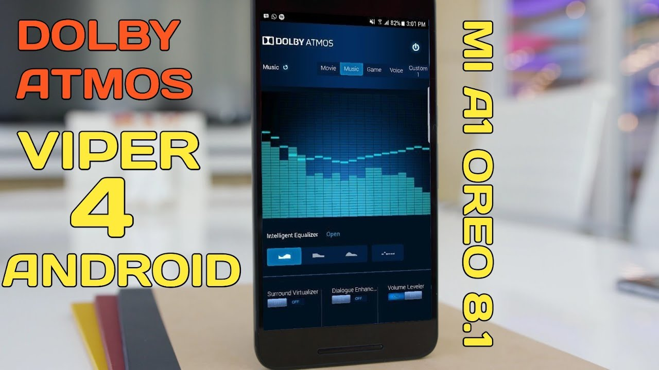 How to install dolby atmos in mi a1 with viper4android on oreo 8 1!!