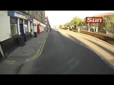 Cycle accident in Edinburgh