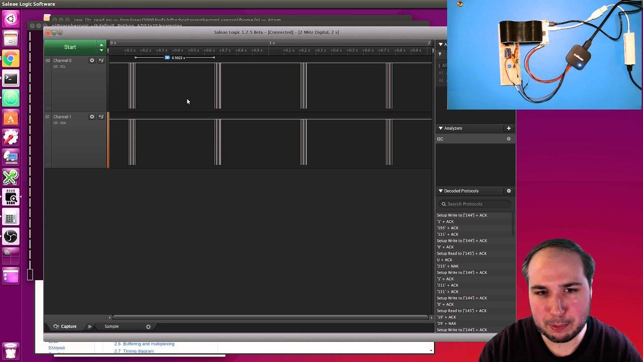 Raspberry Pi & Python I2C Deep Dive with TonyD! @adafruit LIVE