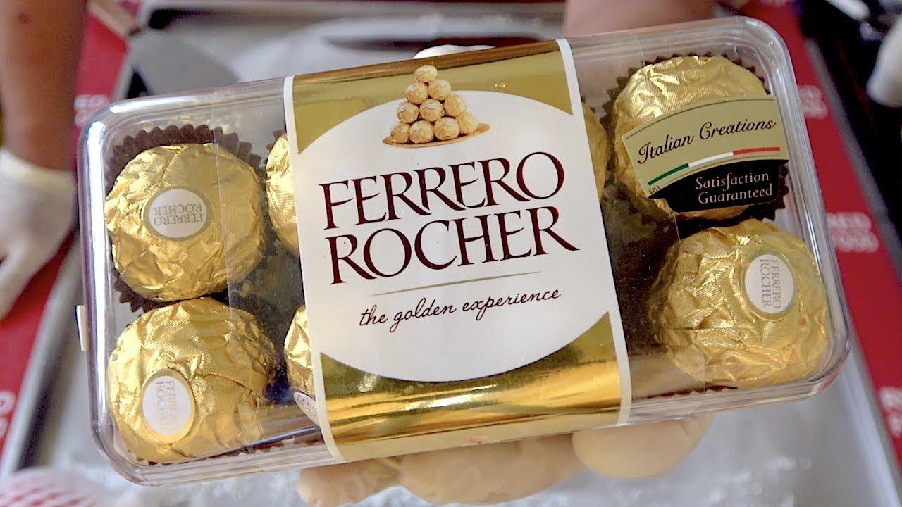 INCREDIBLE TASTE 3 in 1 Chocolates Ice Cream Ferrero Rocher