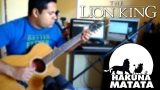 "#31 - Hakuna Matata - Fingerstyle ""Remake"" - Adriano Silva Resimi"