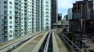 Майами. Монорельс. Metromover