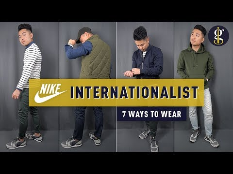 Nike Internationalist Review & Lookbook | 7 Casual Fall Autumn Outfits for Men