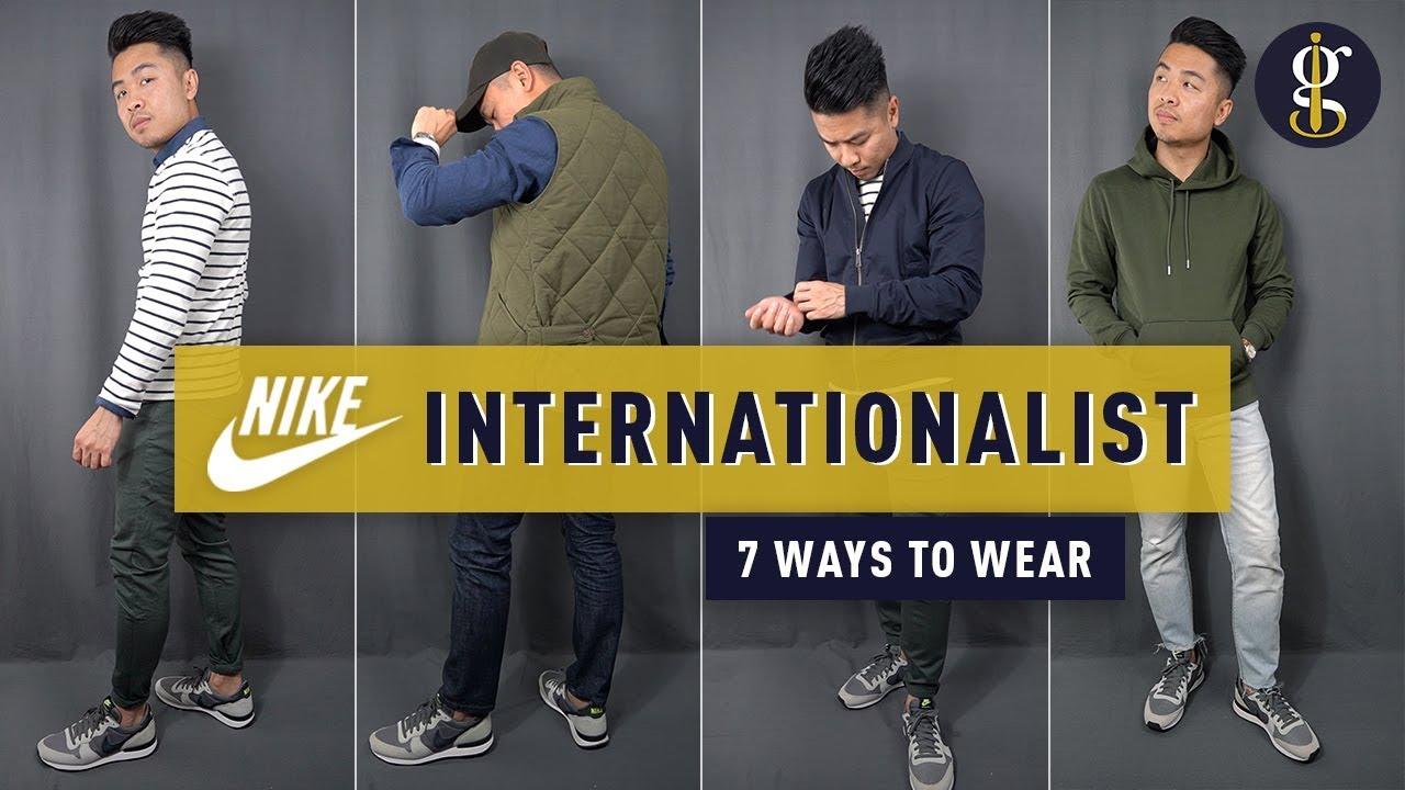 Nike Internationalist Review \u0026 Lookbook